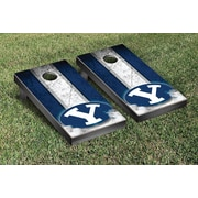 Victory Tailgate NCAA Vintage Version 2 Cornhole Game Set; Brigham Young University Cougars