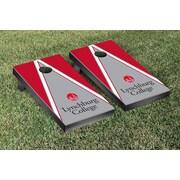 Victory Tailgate NCAA Triangle Version 2 Cornhole Game Set; Valparaiso University Valpo Crusaders