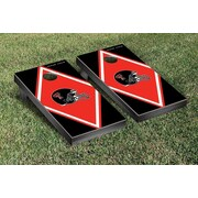 Victory Tailgate NCAA Diamond Version Cornhole Bean Bag Toss Game; Texas Tech University Red Raiders