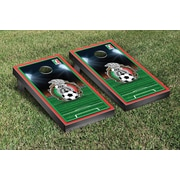 Victory Tailgate NCAA Soccer Field Version 1 Cornhole Game Set; Federaci n Mexicana