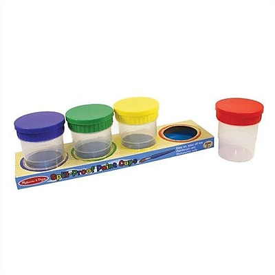 Melissa & Doug Spill-Proof Paint Cups WYF078276580787