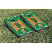 Victory Tailgate NCAA Basketball Version Cornhole Bean Bag Toss Game; North Texas Mean Green
