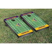 Victory Tailgate NCAA Football Field Version Cornhole Game Set; Ohio Wesleyan OWU Battling Bishops