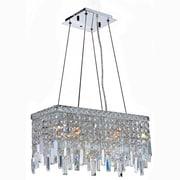 Worldwide Lighting Cascade 4-Light Crystal Chandelier