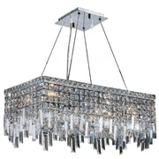 Worldwide Lighting Cascade 6-Light Crystal Chandelier