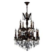 Worldwide Lighting Versailles 12-Light Crystal Chandelier