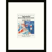 School of Paris 'Salon Des Artistes D corateurs Paris 1939' by Raoul Dufy Framed Lithograph