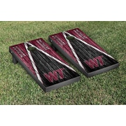 Victory Tailgate NCAA Triangle Weathered Version Cornhole Boards Game Set; West Texas A&M Buffaloes
