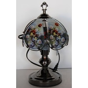 ABCHomeCollection Roses Theme Touch 14'' H Table Lamp