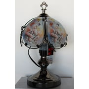 ABCHomeCollection Roses Theme Touch 14'' Table Lamp