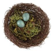 Lillian Rose Moss Bird Nest Ring Holder