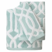 Colordrift LLC Megan Cotton Jacquard 3 Piece Towel Set