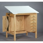 SMIProducts ST Series Art Table; Natural Oak (Standard)