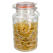 Home Basics Glass Jar w/ Rooster
