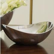 Global Views 9.25'' Spry Bowl; Aluminum