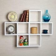 DanyaB 7 Cubby Accent Shelf