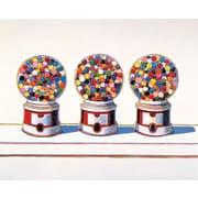 McGaw Graphics Three Machines Graphic Art on Paper