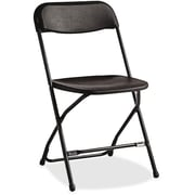 Samsonite Injection Mold Metal Folding Chair; Black