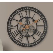 FirsTime 24'' Roman Gear Wall Clock