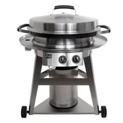 Evo 40'' Professional 2-Burner Gas Grill w/ Cooktop; Natural Gas