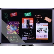 Justick by Smead Free Standing Whiteboard, Medium