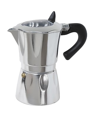 Cuisinox Aluminum Vista Espresso Coffeemakers w/ Window; 6 Cup WYF078280142865
