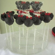 Vandue Corporation Cake Pops Acrylic Display Tiered Stand