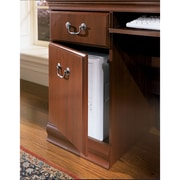 Bush Furniture Birmingham 60W Desk with Hutch, Harvest Cherry (WC26620-03K)
