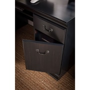 Bush Furniture Birmingham 60W Executive Desk, Antique Black (EX26928-03K)