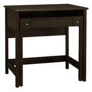 "Bush Furniture Brandywine Laptop Desk 34.64"" x 19.66"" x 33.46"" Retractable Secondary Desk surface Porter Finish"