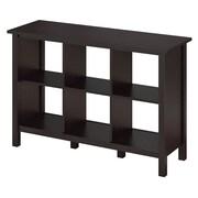 Bush Furniture Broadview 6 Cube Bookcase, Espresso Oak (BDB145EO-03)