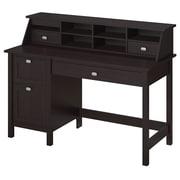 Bush Furniture Broadview Collection Single Pedestal Desk and Organizer