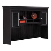 Bush Furniture Fairview Hutch for L Shaped Desk, Antique Black/Hansen Cherry (WC53931-03)