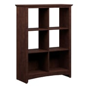 Bush Furniture Buena Vista 6 Cube Storage, Madison Cherry (MY13865-03)