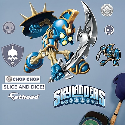 Fathead Skylanders Activision - Chop Chop Junior Peel and Stick Wall Decal WYF078278047794