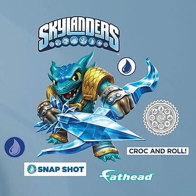 Fathead Skylanders Activision - Snap Shot Junior Peel and Stick Wall Decal WYF078278047796