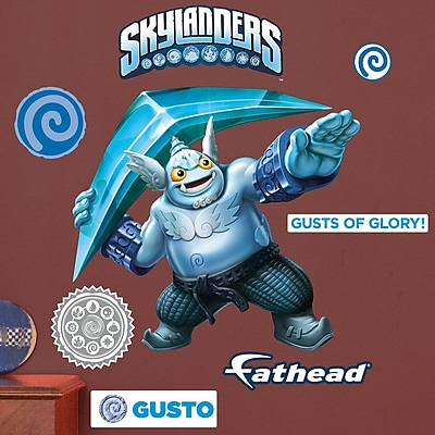 Fathead Skylanders Activision - Gusto Junior Peel and Stick Wall Decal WYF078278047800