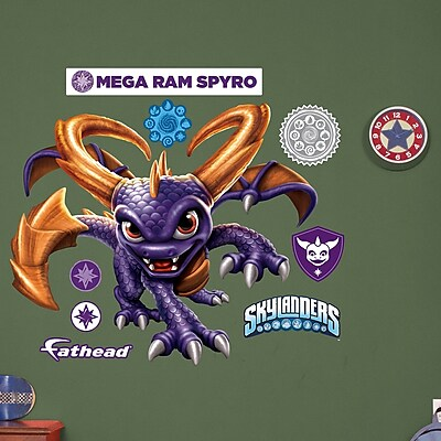Fathead Activision Spyro Peel and Stick Wall Decal WYF078278047851