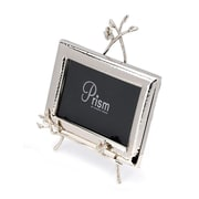 ClassicTouch Tervy Easel Jeweled Flower Picture Frame