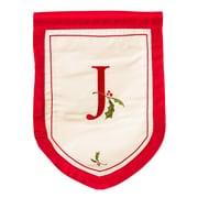 Evergreen Enterprises, Inc Holiday Monogram Garden Flag; J