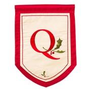 Evergreen Enterprises, Inc Holiday Monogram Garden Flag; Q