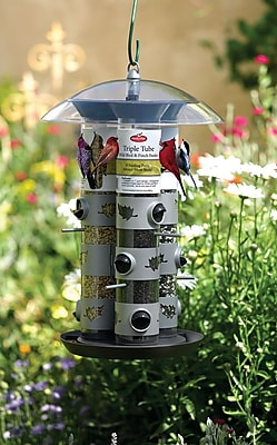 Perky Pet Triple Tube Nyjer/Thistle Bird Feeder (WYF078277964900) photo