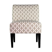MJLFurniture Samantha Parsons Chair; Ecru