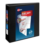 "Avery 3"" Heavy-Duty View Binder with One Touch™ EZD Rings, Black"