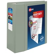 Avery® Heavy-Duty View Binder with Locking EZD™ Rings, 11 x 8 1/2, View, Each (79406)