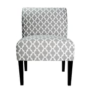 MJLFurniture Samantha Parsons Chair; Gray