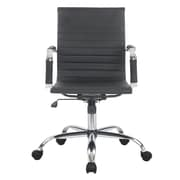 Porthos Home Ardin High-Back Desk Chair; Black