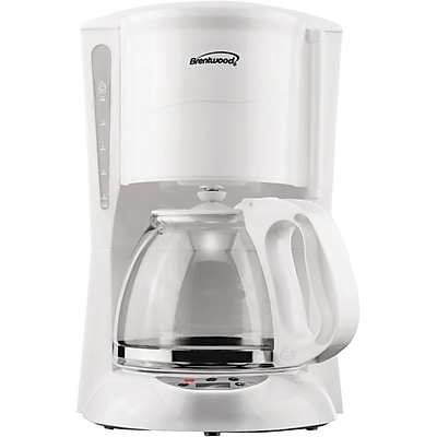 Brentwood Digital Coffee Maker; White WYF078279934680