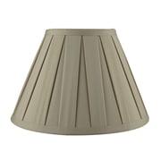 Urbanest Softback 10'' Faux Silk Empire Lamp Shade; Tan