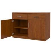 Marco Group Mobile CaseGoods 2 Door Storage Cabinet; Executive Cherry